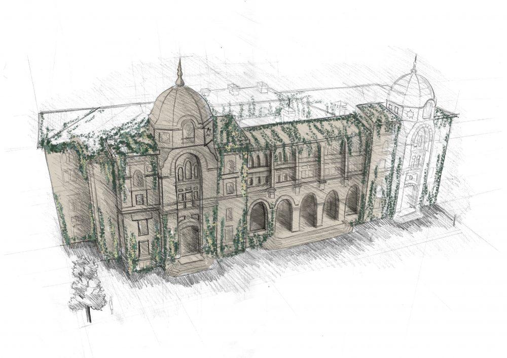 Procreate Architecture Illustration video