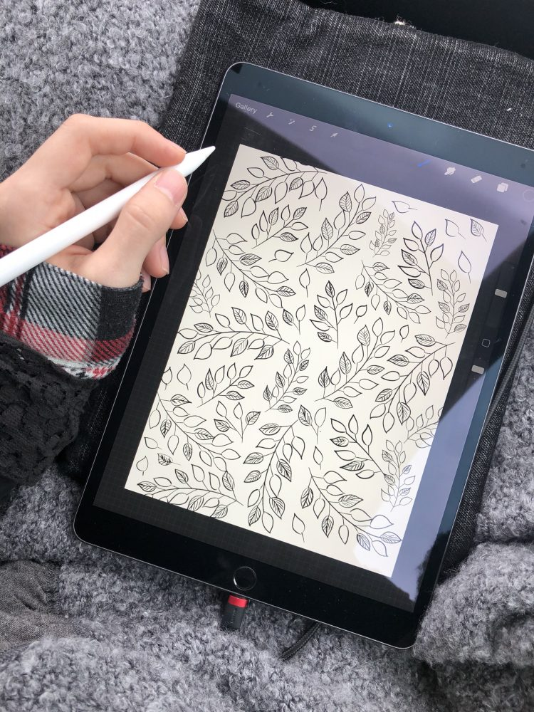 Digital Drawing with Procreate Procreate Pattern Floral Illustration